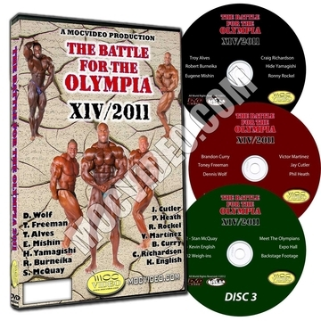 Battle For The Olympia 2012 DVD