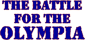Battle For The Olympia DVD